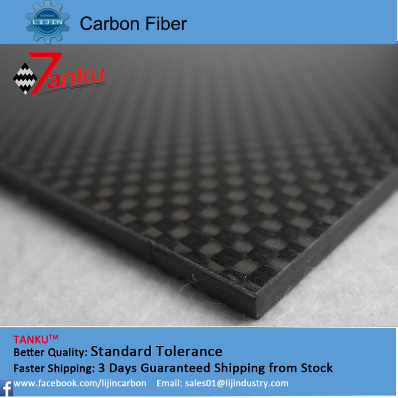 Super Strength Solid Carbon Fiber Plates 2.0pm High Performance